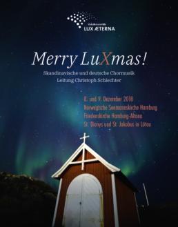Plakat Merry LuXmas